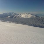 斜里岳と小海別岳