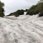 F1は雪の中