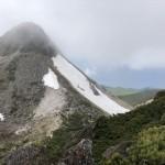 硫黄山(第二前衛峰より)
