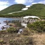 二ッ池とオッカバケ岳