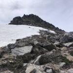 山頂への直登部分