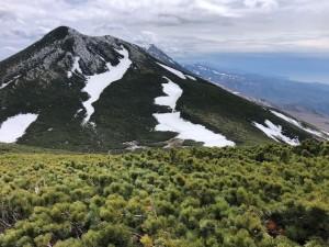 オッカバケ岳からサシルイ岳