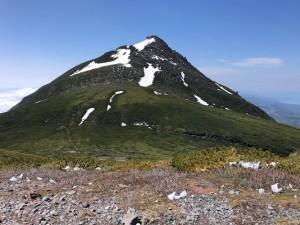 三ッ峰から羅臼岳